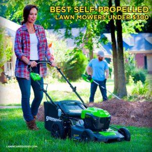 Best Self Propelled Lawn Mower Under $300