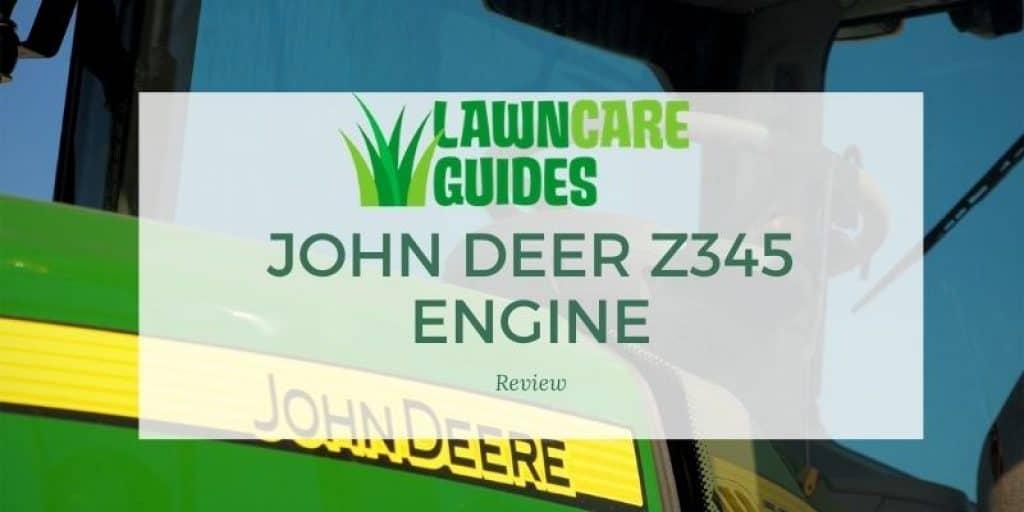 John Deer Z345 Engine